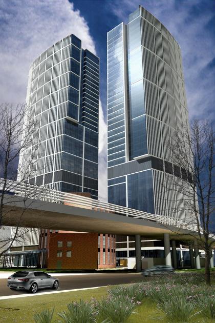 Многофункциональный административно-деловой комплекс, Ходынская улица