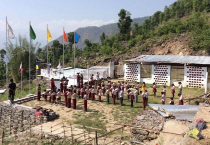 Школа в Непале