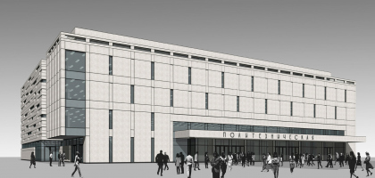 Реконструкция вестибюля станции «Политехническая» и строительство МФК