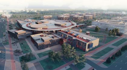 Кампус университета ИТМО. Главный учебный корпус