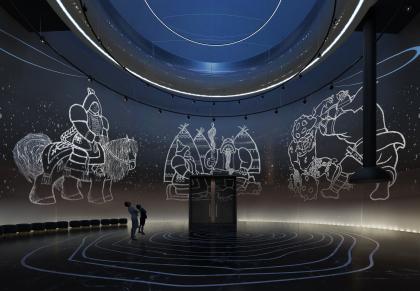 Храм музыки. Концепция интерьеров Государственной филармонии Якутии. Арктический центр эпоса и искусств
