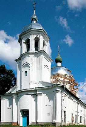Церковь Успения в селе Коростынь и творчество Гаэтано Киавери