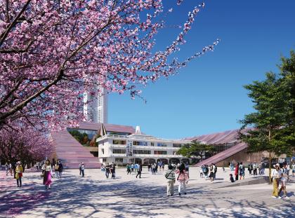 Новое здание мэрии Чхонджу