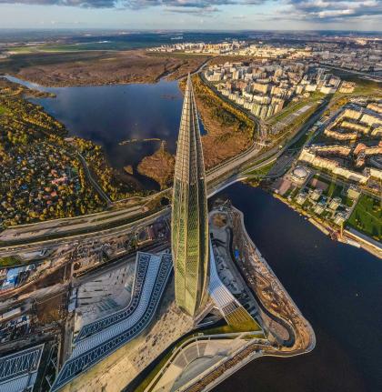 Лучшим небоскребом мира-2019 по версии Emporis Skyscraper Award стал петербургский «Лахта-центр»