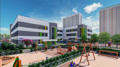 Новый учебный корпус школы № 648 в Ховрино