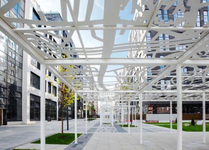 Проект благоустройства бульвара в ЖК «Резиденции архитекторов»
