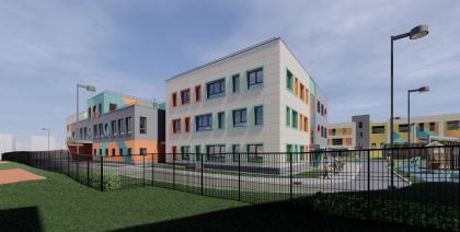 Детский сад в составе ЖК «Лучи»