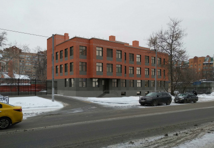 Здание полиции на Краснопролетарской улице
