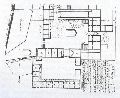 Кремлевский дворец. План второй четверти XVIII в.