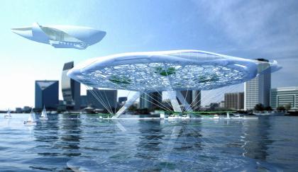 «Аэротель». Концептуальный проект отеля на воде