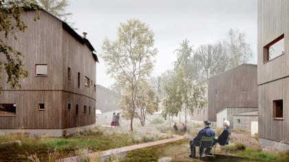 «Каменные реки». Конкурсная концепция жилого фонда посёлка Соловецкий