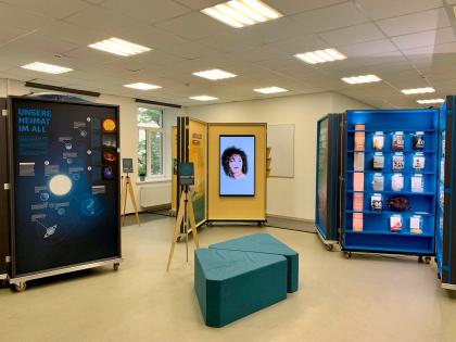 В Москве открылась выставка «Вселенная. Человек. Интеллект», проводимая в рамках Года Германии в России 2020/2021