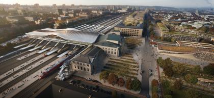 Железнодорожный вокзал в Вильнюсе – реконструкция