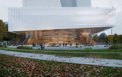 Оперный театр в Дюссельдорфе – реконструкция