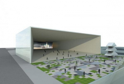 Павильон «Окно в Россию». Конкурсный проект для выставки EXPO-2010 в Шанхае