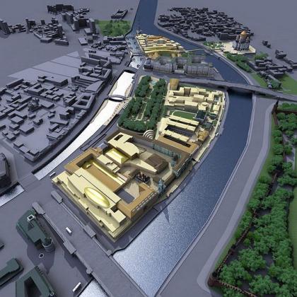 Реконструкция фабрики «Красный Октябрь»
