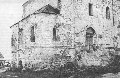 Северо-восточная часть храма (1960-е).