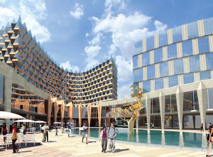 Комплекс ′Kempinski Plaza′ в Нижнем Новгороде