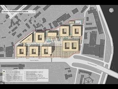 Многофункциональный административно-торговый комплекс на проспекте Медиков