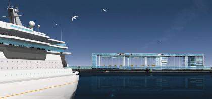 Морской пассажирский терминал в Санкт-Петербурге