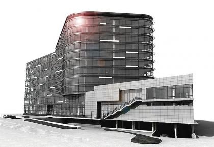 Многофункциональный комплекс на проспекте 60-летия Октября