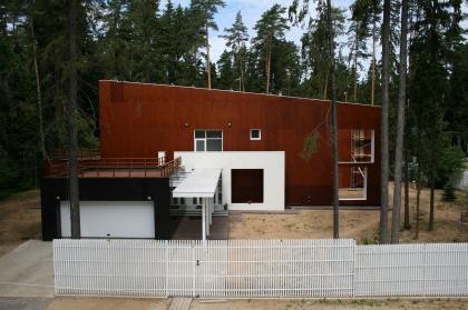 Частный жилой дом на Николиной горе-2