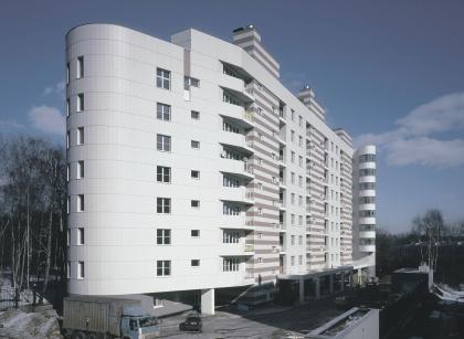 Девятиэтажный жилой дом с подземным гаражом на ул. М. Филевская