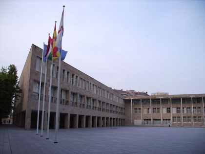 Комплекс администрации города Логроньо