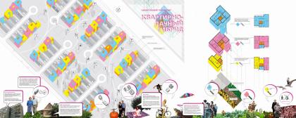 Квартирно-дачный гибрид. Проект жилой типологии. Проект, показанный на выставке Новые имена, Арх Москва - 2009