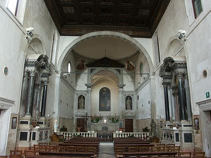 7. Церковь Санта Мария делла Визитационе в Венеции. 1493 – 1523 г.г.  Фото Вл.В. Седова.