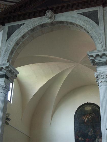 9. Свод хора церкви Санта Мария делла Визитационе в Венеции. После 1493 г. Фото Вл.В. Седова