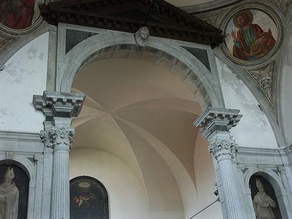 10. Свод хора церкви Санта Мария делла Визитационе в Венеции. После 1493 г. Фото Вл.В. Седова