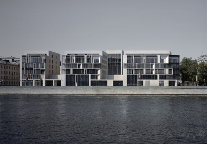 Multyfunctional complex on Prechistenskaia quay (Barkli plaza)
