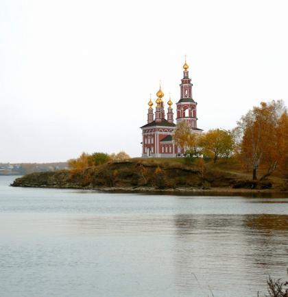 Православный храм в Озерске