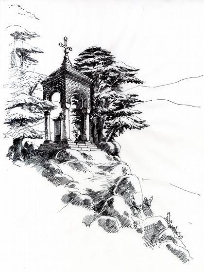 Часовня на горе Балгатура