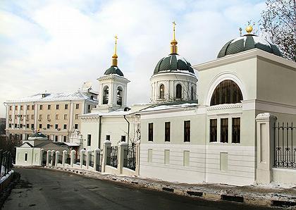 Патриаршее подворье у церкви св. Николая в Котельниках