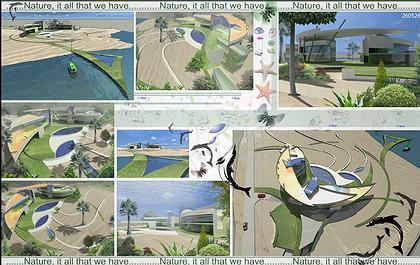 Конкурсный проект индивидуального жилого дома на Багамских островах
