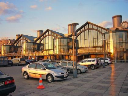 "Railroad station ""Ladozhsky"", St.Petersbug"