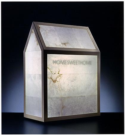 Targetti Light Art Collection. Vittorio Messina «Home Sweet Home» (2000). © МУАР