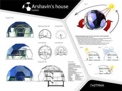 Arshavin's house. Проект дома для Андрея Аршавина в рамках конкурса Дом для Звезды 2009