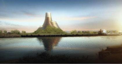 Биотопливная электростанция в графстве Дарем, Великобритания. Проект