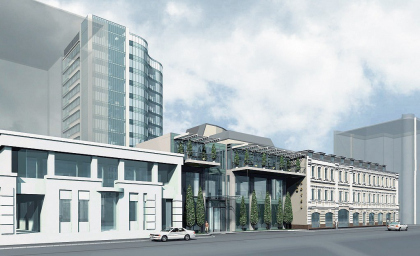 Гостиничный комплекс на Новослободской улице