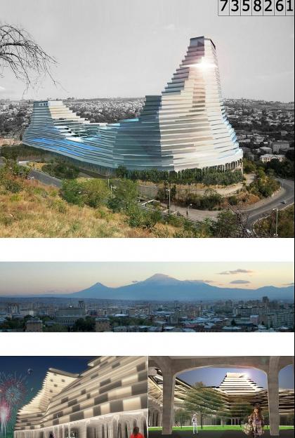 Деловой центр с гостиницей Intercontinental в Ереване