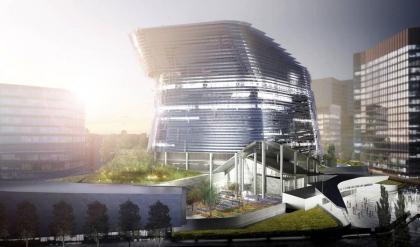 Посольство США в Великобритании - конкурсный проект