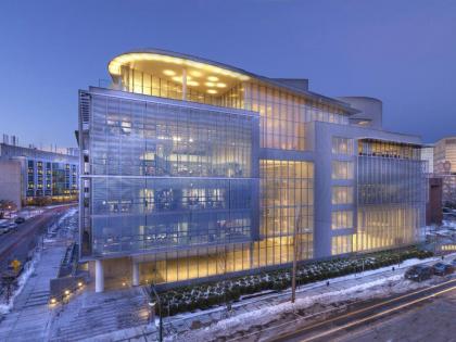 Медиа-лаборатория Массачусетского института технологии – новый корпус