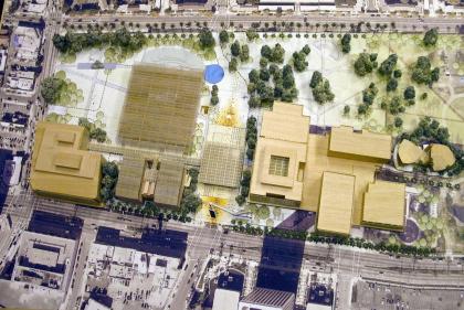Музей искусств округа Лос-Анджелес (LACMA) – реконструкция