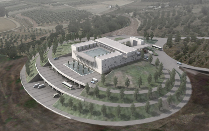 Pre-design project of winery complex construction in Krasnodar krai