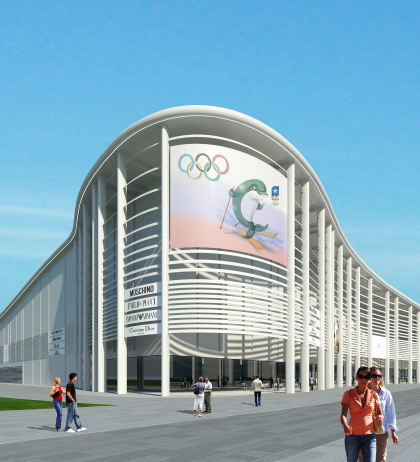 Broadcasting centre for Sochi 2014 Winter Olympic Games