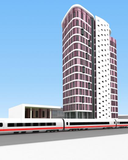 Многофункциональное здание в Бумажном проезде