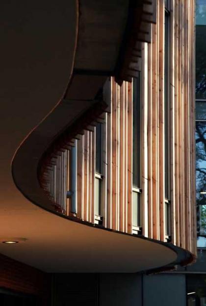 Новое здание гербария и библиотечное крыло ботанического сада Кью